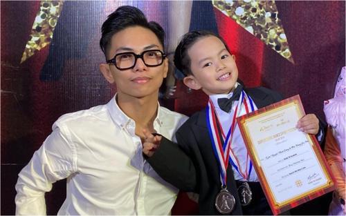 Lần đầu thi khiêu vũ thể thao, con trai Khánh Thi - Phan Hiển xuất sắc đoạt 2 huy chương bạc