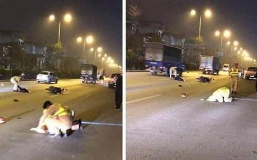 Chặn bắt nhóm đua xe, Trung úy CSGT ở Sài Gòn bị 'quái xế' tông tử vong