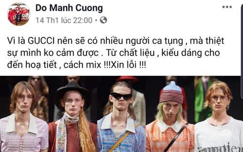 BST mới nhất của Gucci thế nào mà NTK và sao Việt xôn xao bình bàn