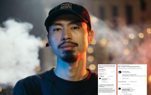 Rapper Đen Vâu lên tiếng khi bị kẻ xấu ghép ảnh xúc phạm BTS