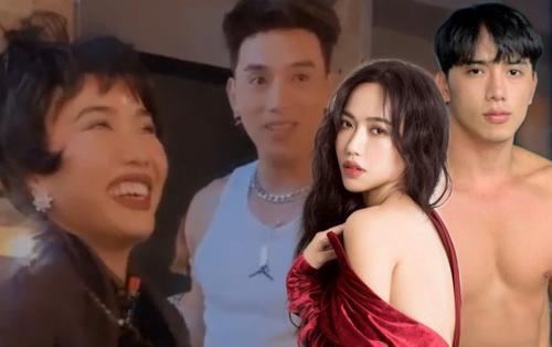 Clip: Đang say sưa trên nền nhạc, Diệu Nhi bỗng đứng hình vì… trai đẹp Thuận Nguyễn