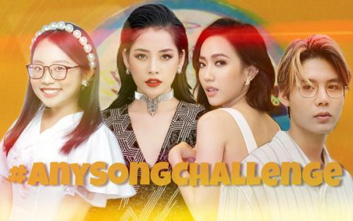 Rần rần trào lưu #AnySongChallege và loạt clip bắt trend cực 'gắt' từ dàn sao đình đám Vpop