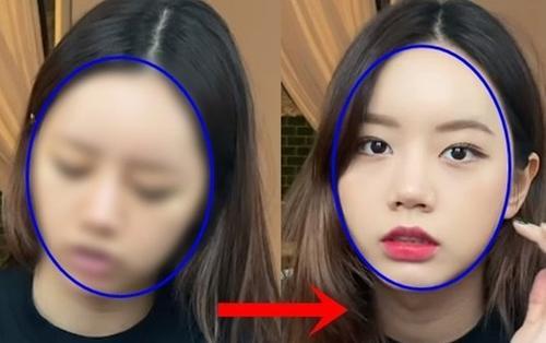 Hyeri (Girl's Day) khoe mặt trước và sau make up, Knet: 'Xấu xí ngay cả khi đã phẫu thuật thẩm mỹ'