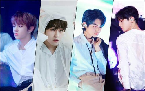 10 idol nam Hàn Quốc siêu quyến rũ, thu hút ánh nhìn với áo sơ mi trắng