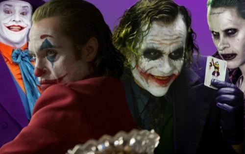 Cả 4 bộ phim nhà DC đoạt giải Oscar đều có sự góp mặt của Joker