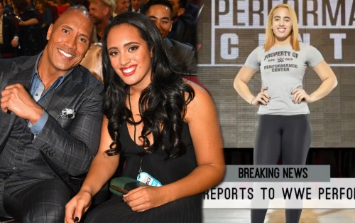 Con gái của Dwayne 'The Rock' Johnson nối nghiệp bố, kí hợp đồng WWE chuyên nghiệp