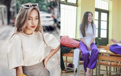 Loạt ảnh thời học sinh gây bất ngờ của các 'hotgirl' Việt: Người nhí nhảnh năng động, người có màn lột xác 'đỉnh cao'