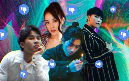 Loạt MV nhận bão dislike của Vpop: Sơn Tùng góp mặt dày đặc, K-ICM sở hữu tận 2 sản phẩm đứng đầu