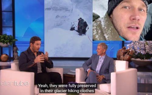 Xác một cặp đôi đã đóng băng được đoàn phim của Chris Pratt phát hiện