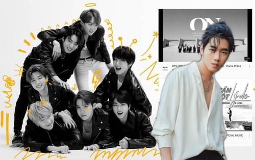 MV mới của BTS mất vỏn vẹn 8 tiếng để lật đổ ngôi vương top trending 2 ngày của K-ICM