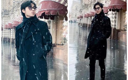 Mặc kệ 'kỷ lục 1,1 triệu dislike', K-ICM khoe loạt ảnh check in cực chất với tuyết trắng xóa tại Nga