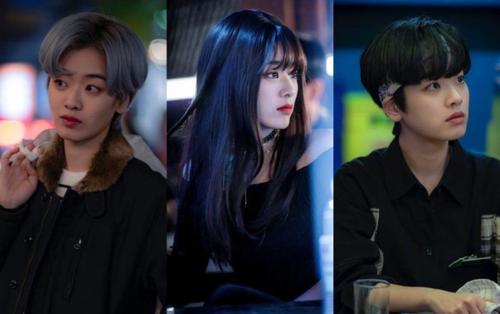 Những lần biến hình nhờ thay đổi kiểu tóc cực ấn tượng của Lee Joo Young trong Itaewon Class