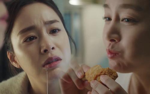 Hi Bye, Mama tập 3: Kim Tae Hee hóa thực thần, ăn gà rán ngon lành như TVC quảng cáo