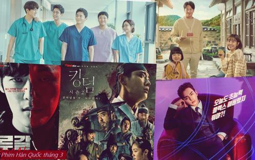 Phim truyền hình Hàn Quốc đầu tháng 3: Nóng hơn bao giờ hết với sự trở lại của 'mợ chảnh' Jun Ji Hyun và cặp đôi biên kịch - đạo diễn của series 'Lời hồi đáp'