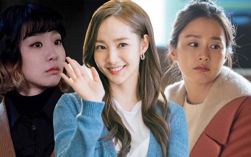 3 nữ diễn viên Hàn Quốc đang gây bão màn ảnh nhỏ: Chị em họ Kim gây bất ngờ, Park Min Young có phần lép vế
