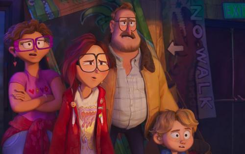 Trailer Connected: Bộ phim hoạt hình mới từ bộ đôi nhà sản xuất Spider-Verse!