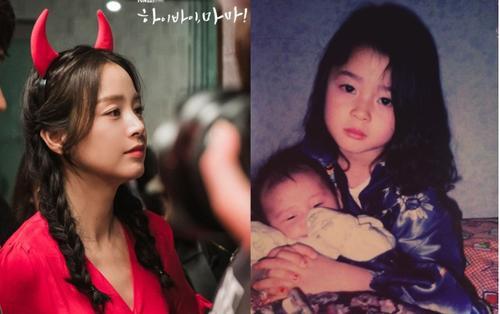 Ảnh hồi bé tuyệt đẹp của Kwon Nara được 'đào mộ' - Vẻ đẹp của Kim Tae Hee trong phim Hi, Bye Mama! gây choáng