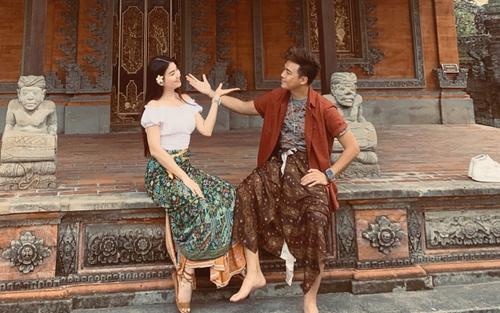 Thanh Duy - Kha Ly tung ảnh 'tình bể bình' tại Bali kỷ niệm 4 năm ngày cưới