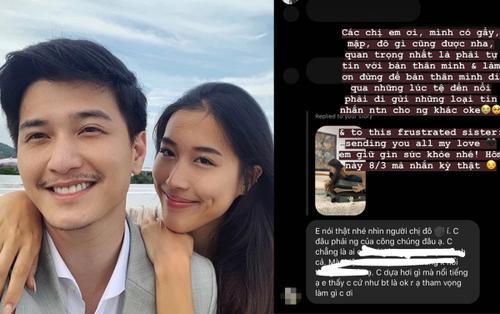 Bạn gái cũ Huỳnh Anh đáp trả 'cực khéo' khi bị nói 'dựa hơi nổi tiếng' và body shaming