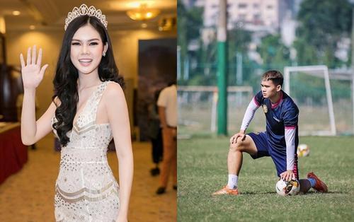 Người mẫu Ngọc Trinh chia tay trung vệ U21 Việt Nam sau 2 năm yêu nhau