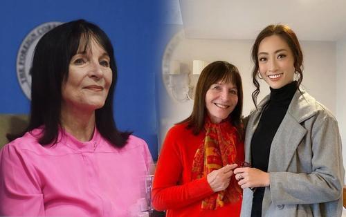 Rộ tin Chủ tịch Miss World nhiễm Covid-19: Fan nhớ lời hứa của 'dì Morley' với Lương Thùy Linh