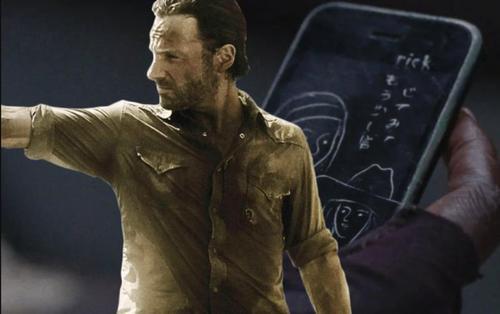 The Walking Dead: Tiết lộ sự trở lại của Rick Grimes qua chiếc điện thoại Michonne nhặt được