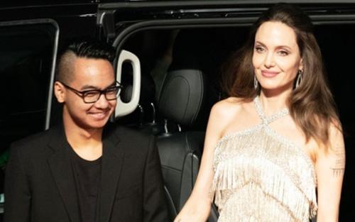 Con trai cả của Angelina Jolie từ Hàn Quốc về Mỹ tránh dịch cùng mẹ và các em