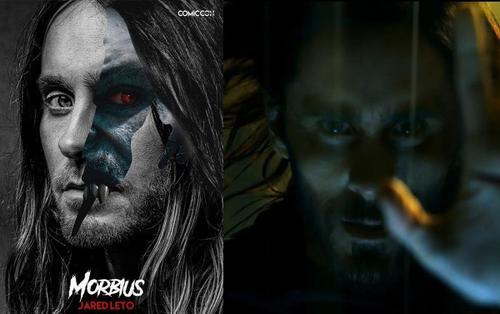 Morbius: Bức ảnh cho thấy 2 tính cách song song của Jared Leto