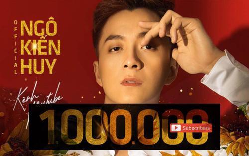 Ngô Kiến Huy gia nhập hội 'nút vàng Youtube', lập thành tích tăng 800.000 người theo dõi chỉ trong 7 tháng