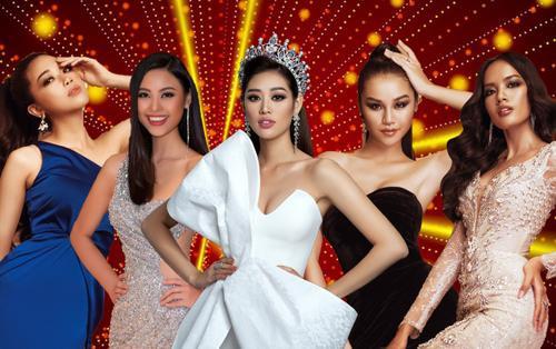 Khánh Vân thi lại sau 4 năm mới đăng quang hoa hậu: Thu Trang - Hoàng Phương - Đào Hà 'đừng nản'