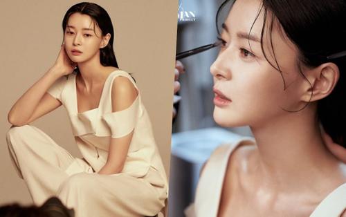 Soo Ah của Itaewon Class đẹp lịm tim trong hậu trường khiến ai nấy đều ngoái nhìn