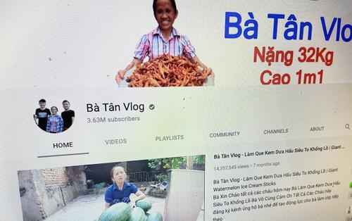 Bà Tân Vlog giảm nhiệt chóng mặt trên YouTube, người xem dần chán 'siêu to, khổng lồ'?
