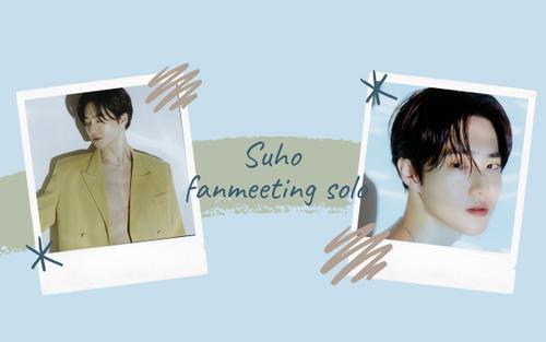 Debut solo giữa mùa dịch corona, Suho (EXO) vẫn không để fan thiệt thòi khi lên lịch thực hiện buổi fan meeting online 'O2asis'