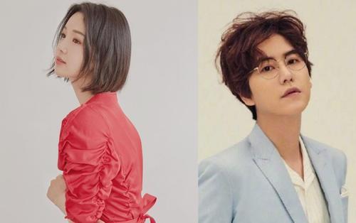 Kyuhyun (Super Junior) cổ vũ Changmin (TVXQ) - 'Búp bê' Nam Gyu Ri trình làng mái tóc mới