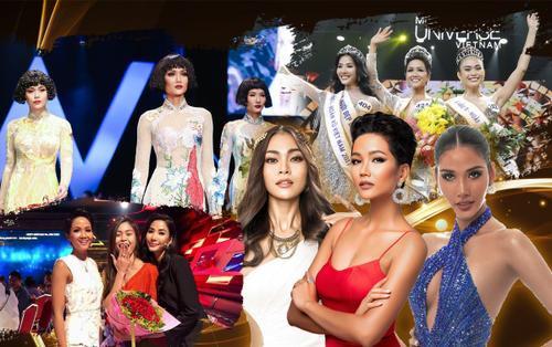 Top 3 MUV 2017: H'Hen Niê - Hoàng Thùy 'gây bão' fan quốc tế, Mâu Thủy lỡ duyên 'xuất ngoại'