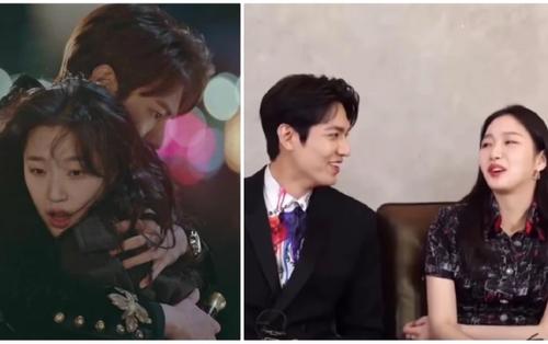 Kim Go Eun và Lee Min Ho 'kẻ tung người hứng' cực ăn ý trong phỏng vấn quảng bá phim 'Quân vương bất diệt'
