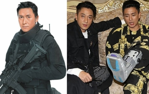 Mã Đức Chung suýt nữa đóng 'Phi Hổ cực chiến 1, 2' - Huỳnh Tông Trạch đã lành 95% vết thương cũ