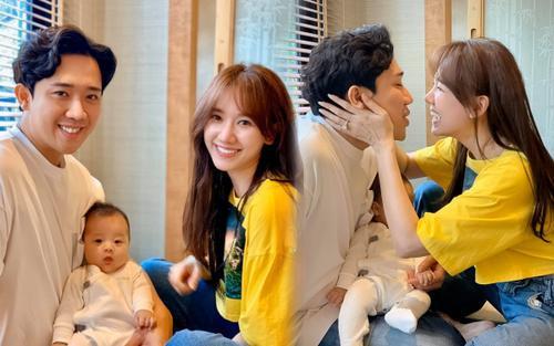 Khoe ảnh chụp cùng cháu ruột, vợ chồng Trấn Thành Hari Won liền bị fan hối 'làm một đứa đi'