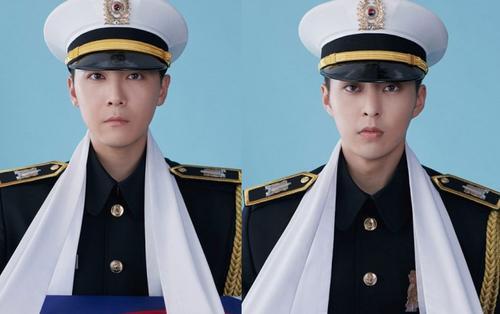 Vở nhạc kịch quân đội 'Return: The Promise of the Day' tung hàng loạt poster quân đội cực ngầu của D.O, Xiumin, Lee Hongki, fans lập tức muốn nhập ngũ
