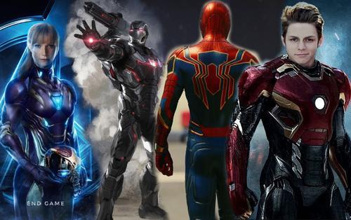4 siêu anh hùng sẽ khoác lên mình bộ giáp Iron trong tương lai của MCU
