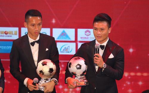 Quang Hải: 'Tôi không bất ngờ khi Hùng Dũng nhận Quả bóng vàng'