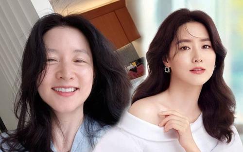 'Nàng Dae Jang Geum' Lee Young Ae tự tin khoe mặt mộc lộ rõ nếp nhăn và chân chim