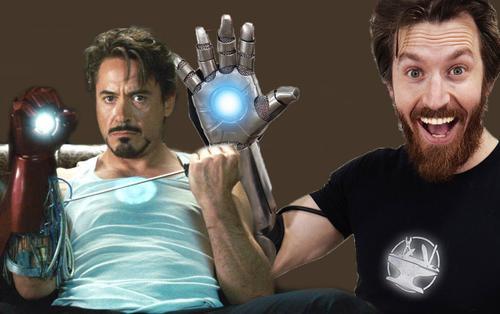 Đã có người tạo ra được chiếc găng tay Iron Man ngoài đời thực, có thể bắn tia plasma để cắt kim loại
