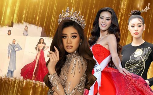 Fan tranh cãi rôm rả vì Khánh Vân muốn biến áo dài thành váy dạ hội thi Miss Universe 2020