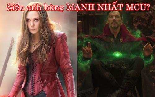 Sau tất cả, siêu anh hùng mạnh nhất của Vũ trụ Điện ảnh Marvel là ai?