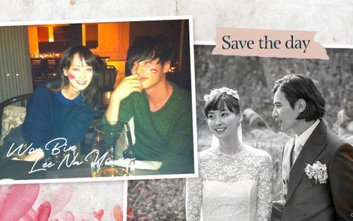 Lộ ảnh hẹn hò của Won Bin - Lee Na Young trước khi kết hôn, Knet gọi tên nhóc tỳ: 'Hẳn sẽ rất đẹp trai'