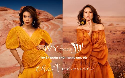Hoàng Thuỳ Linh kể câu chuyện thời trang của mình trong BST The Avenue của IVY moda
