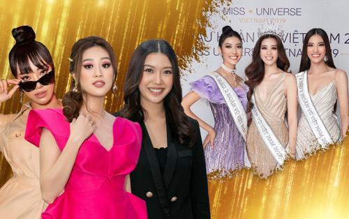 Top 3 Hoa hậu Hoàn vũ Việt Nam tái ngộ sau gần nửa năm: Khánh Vân rạng rỡ - Thúy Vân đẹp thanh lịch