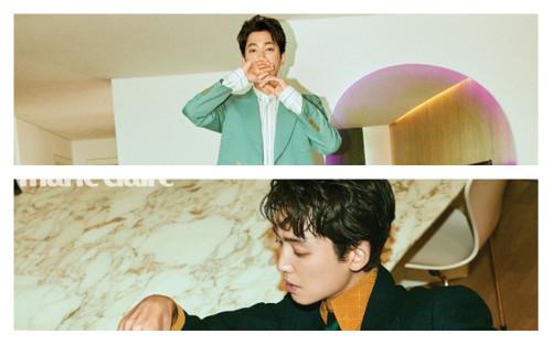 Jung Kyung Ho chia sẻ về cách Sooyoung thay đổi anh, các loại vai anh muốn thử và nhiều hơn thế nữa