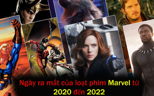 Ngày ra mắt của tất cả phim Marvel từ năm 2020 - 2022
